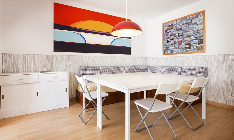 Baleal Hostel II - Living Room A - Baleal Surf Camp